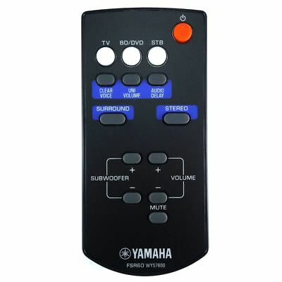 AU55.91 • Buy Genuine Yamaha YAS-101 / YAS101 Sound Bar Remote Control
