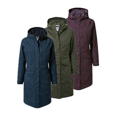 Craghoppers Womens Mhairi Warm Waterproof Hooded Jacket RRP £150 • 69.99£