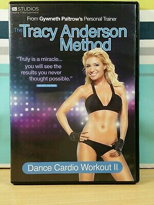 Tracy Anderson Method Dance Cardio Workout 2 DVD UK PAL Tested & Working • 2.49£