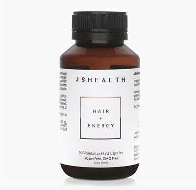 AU40.99 • Buy Hair & Energy 60's - Js Health