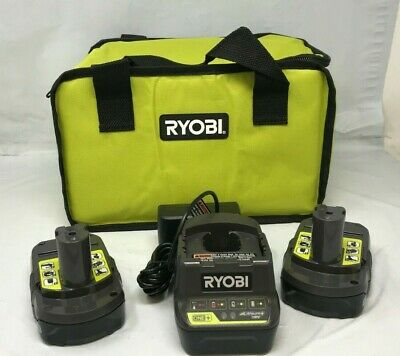 Ryobi P190-P118B One+ 2Ah 18-Volt Lithium-Ion Compact Battery Pack & CHARGER N • 44.95£