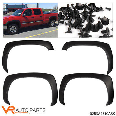 $60.99 • Buy Matte Black OE Style Fender Flares For GMC Sierra Chevy Silverado 1999-2006