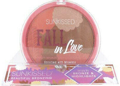 Sunkissed Fall In Love Multi Bronze & Highlights Powder 28.5g For Women UK • 19.74£