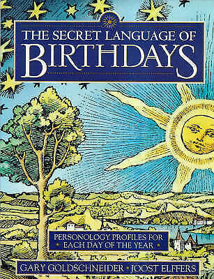 £24 • Buy The Secret Language Of Birthdays: Personology Profiles For Each Day Of The 43863