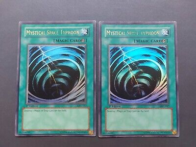 Yugioh - Mystical Space Typhoon MRL-047 Ultra Rare 1st Edition • 27.38£