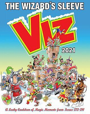 Viz Annual 2021 The Wizard'S Sleeve Rousing Blast Genre Pages Issues Annuals • 11.60£