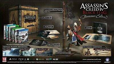 Assassins Creed IV Black Flag Buccaneer Collectors Edition Xbox 360 • 60£