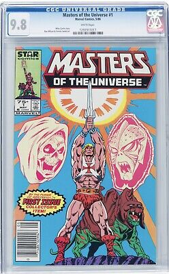 $395 • Buy Masters Of The Universe # 1 CGC 9.8 WHITE 1291911017 He-Man 🔥 RARE Newsstand