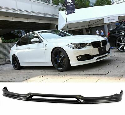 AU155.98 • Buy For 12-18 BMW F30 3-SERIES 4D EURO PU FRONT BUMPER LIP POLY URETHANE BODY KIT