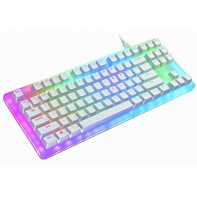 AU109.99 • Buy Womier K87 LED RGB Backlight Hot Swappable Switch Gaming TKL Mechanical Keyboard