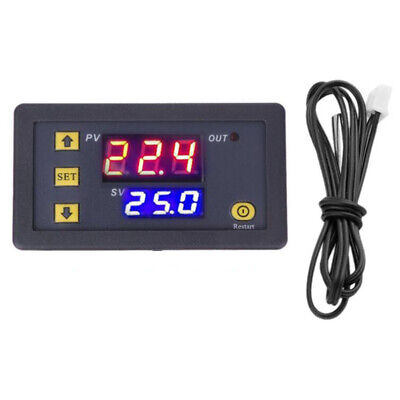 DC12V Digital LED Microcomputer Thermostat Controller Switch Temperature Sensor • 5.99£