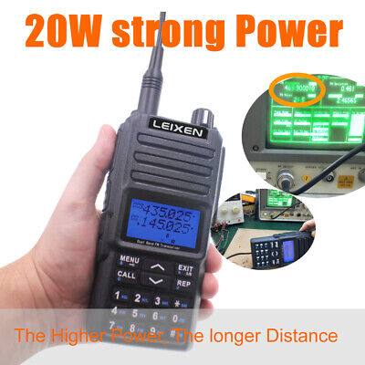 $ CDN181.44 • Buy Handle 2 Way Radio Long Talk Range High Power Amateur Radio CTCSS/DCS Repeater
