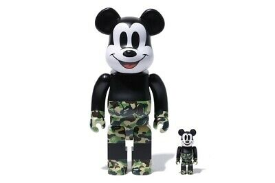 $471.82 • Buy Bearbrick Bape Mickey Mouse 100 400