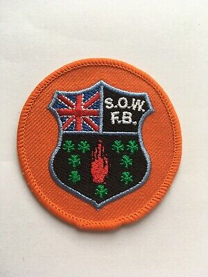 SOW Flute Band Cloth Patch Rangers Orange Loyalists Linfield Chelsea • 6.99£