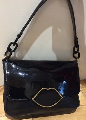 Lulu Guinness Patent/ Leather Annabelle Shoulder Bag • 125£