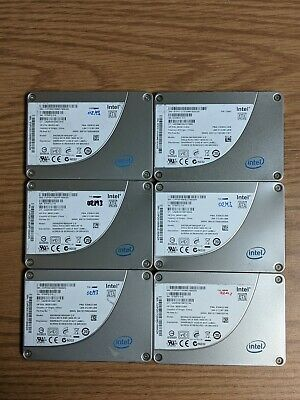 $ CDN157.09 • Buy Lot Of 6x 160GB Intel SSD SSDSA2M160G2HP 3Gb/s SATA 2.5  Solid State Drive