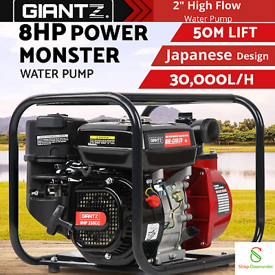 AU229.95 • Buy Fire Fighting Water Transfer Pump Firefighter High 2 Inch Petrol Irrigation 8hp