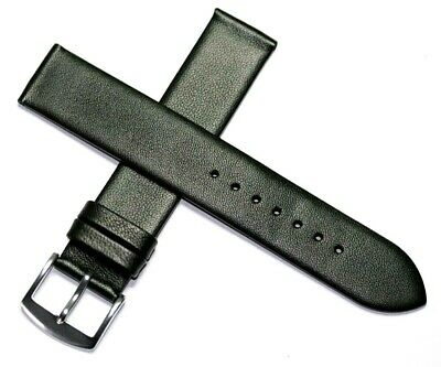 £9.95 • Buy Stunning Soft Smooth Lamb Leather French Watch Strap Black 10mm - 20mm  £9.95