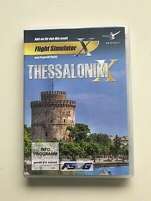 Thessaloniki Scenery Addon For FSX • 14.99£
