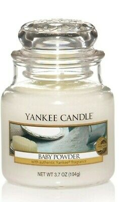 Yankee Candle Small Jar BABY POWDER  104g • 11.25£