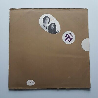 John Lennon And Yoko Ono Unfinished Music No. 1 Two Virgins Vinyl LP T-5001 1969 • 20£