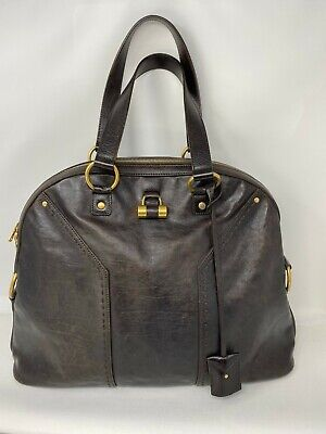 Yves Saint Laurent Oversized Muse Leather Bag - 100% Authentic • 345£