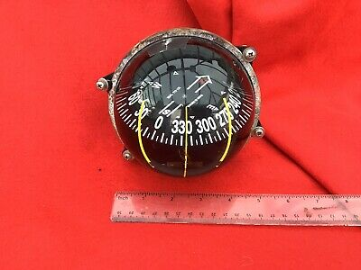 Vintage Swedish Large Compass Used In Either A Plane Or Ship • 85£