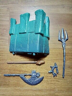 $20 • Buy 🎄 Masters Of The Universe Castle Grayskull Parts Weapon Lot 2002 200X He-Man 🎄