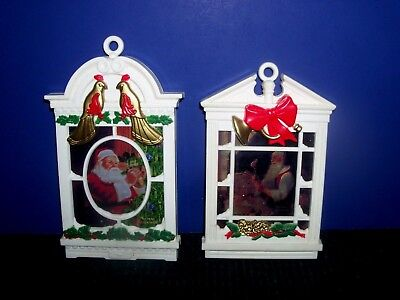 $ CDN2.61 • Buy Norman Rockwell Vintage LEGENDS OF SANTA Christmas Ornaments 1991 With Stands