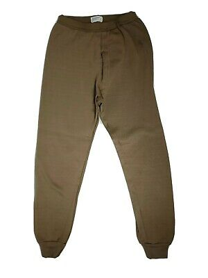 $24.99 • Buy Military Cold Weather Drawers Polypropylene Thermal Underwear Longjohns Sz Small