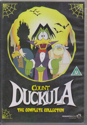 £79.99 • Buy Count Duckula The Complete Collection All Three Series 7 Discs UK R0 DVD Boxset