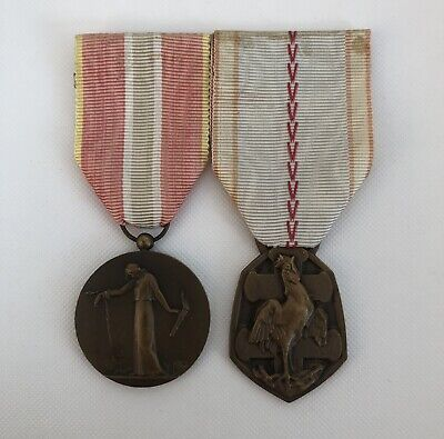 French WW2 Deportee Medal And Commemorative Medal • 35£