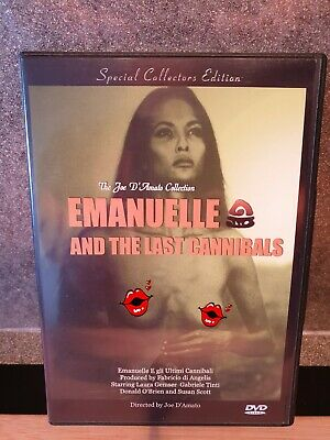 Emanuelle And The Last Cannibals DVD,  Region Free Joe D'Amato Laura Gemser • 8£
