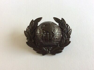 Royal Marines Officer Collar Badge Lovat Dress 1964 To Date, Bronzed • 8£