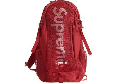$ CDN313.30 • Buy Supreme Backpack SS20 Red