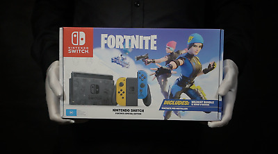 $ CDN747.37 • Buy Nintendo Switch Fortnite Special Edition Console Bundle Boxed - 'The Masked Man'