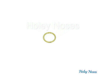 AU90 • Buy 9ct Yellow Gold Nose Lip, Eyebrow Ring Earring 18g Stud Body Jewellery For Face
