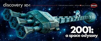 Moebius 1/350 Scale Space Odyssey Discovery XD-1 Plastic Model Kit 2001-8 • 35.41£