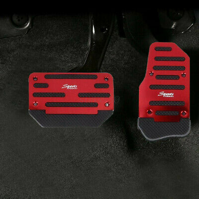 AU23.74 • Buy AU Non-Slip Automatic Gas Brake Foot Pedal Pad Cover Car Accessories Red