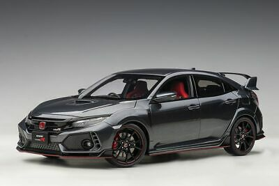 AU407.99 • Buy Honda Civic Type R (FK 8) (2017) In Polished Metal (1:18 Scale By AUTOart 73265)