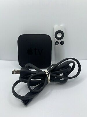 AU65.23 • Buy Apple TV 3rd Gen A1469 1080p Media Streamer - With Ac Adaptor And Remote