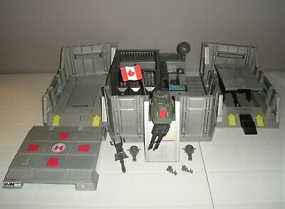 $ CDN42 • Buy Vintage Gi Joe 1983 Headquarters Command Center - Near Complete