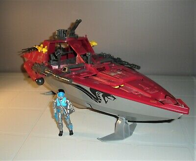 $ CDN91 • Buy Vintage Gi Joe 1985 Cobra Moray Hydro Foil - W/lamprey Driver - 99% Complete