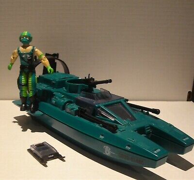 $ CDN31 • Buy Vintage Gi Joe 1984 Cobra Water Moccasin Boat - W/driver 100% Complete