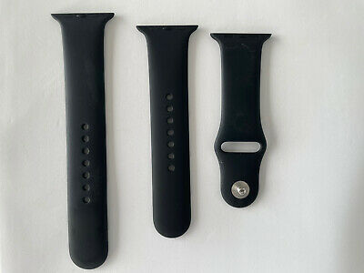 AU39.99 • Buy GENUINE APPLE Watch Silicone Sport Strap Band For IWatch 42/44mm Series 23456 SE