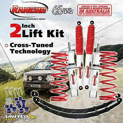 AU1386.05 • Buy 40mm Lift Kit Rancho Shocks Coil Leaf For Nissan Navara Frontier D40 2.5DT