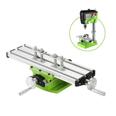 Mini Compound Bench Drilling Slide Table Worktable Milling Vise MachineTool Q3Z3 • 20.99£