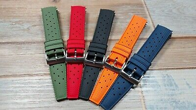 £19.99 • Buy  The Icon  Tropic Rubber FKM Straps. Various Colors. UK Stock. Quick Release