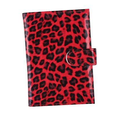 AU5.34 • Buy Travel Accessories PU Leather Passport Covers ID Fold Leopard Print Bag JA