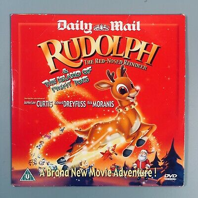 Rudolph The Red-Nosed Reindeer & The Islands Of Misfit Toys Daily Mail Promo DVD • 3.95£